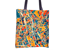 Graz Map Tote Bag - Austria Map Tote Bag 15x15