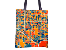 Tucson Map Tote Bag - Arizona Map Tote Bag 15x15