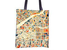 Osaka Map Tote Bag - Japan Map Tote Bag 15x15