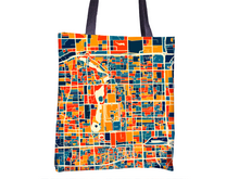 Beijing Map Tote Bag - China Map Tote Bag 15x15
