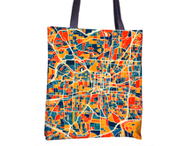 Greensboro Map Tote Bag - North Carolina Map Tote Bag 15x15