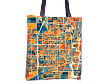 Fort Lauderdale Map Tote Bag - Fort Lauderdale Map Tote Bag 15x15