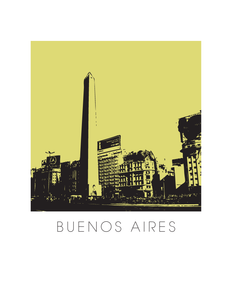 Buenos Aires Art Poster
