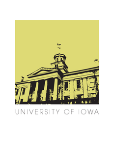 University of Iowa Art Poster