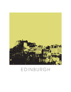 Edinburgh Art Poster