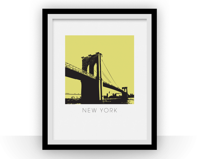 New York Art Poster