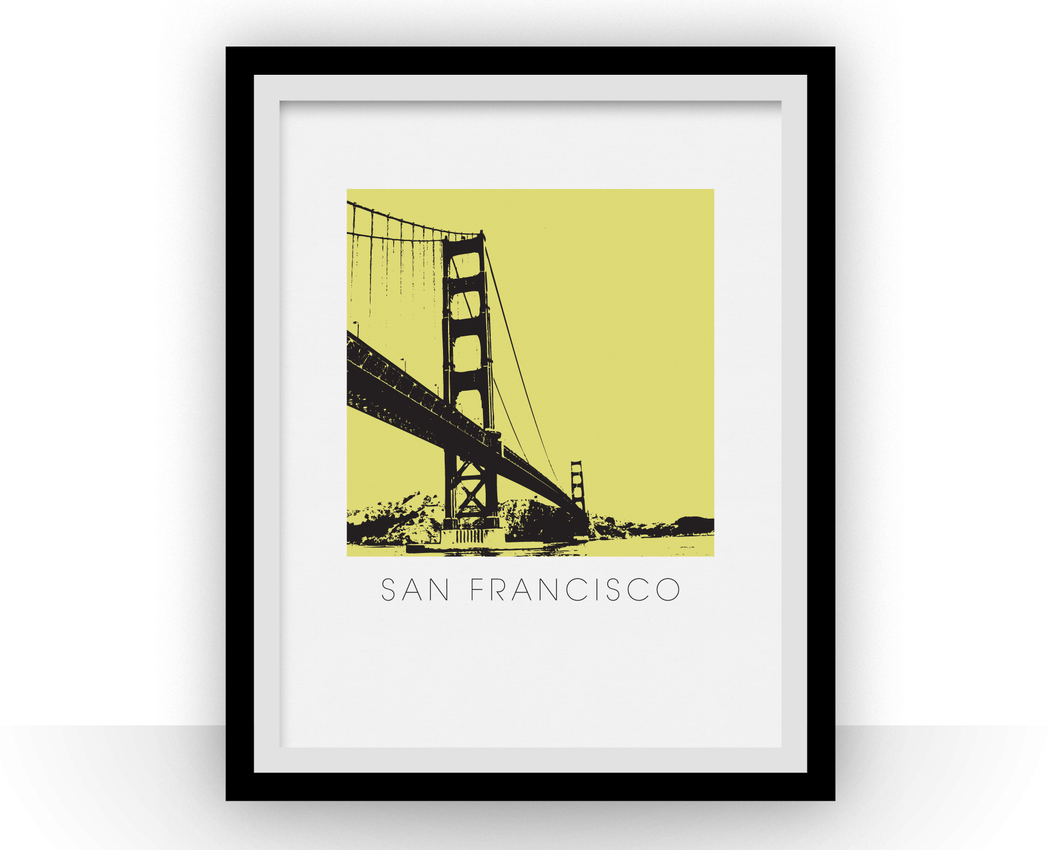 San Francisco Art Poster