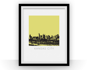 Kansas City Art Poster