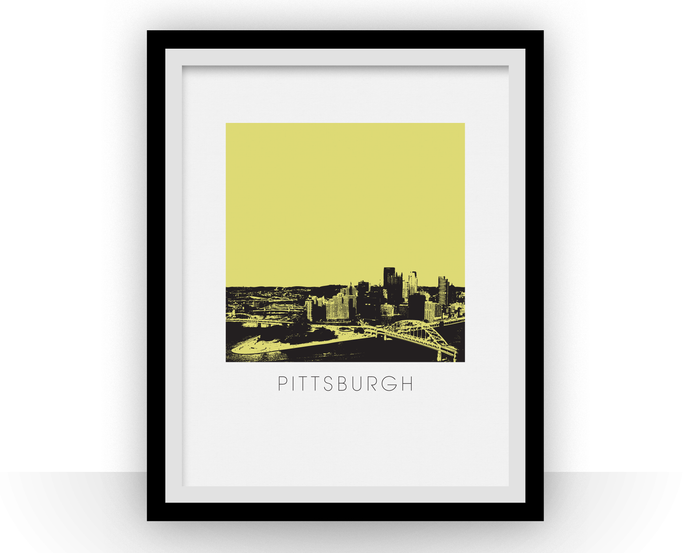 Pittsburgh Art Poster