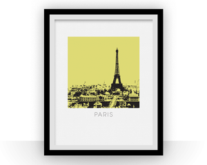 Paris Art Poster