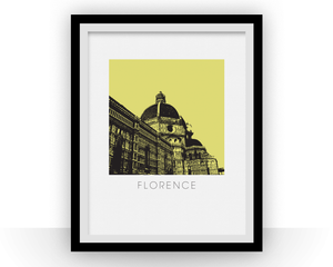 Florence Art Poster