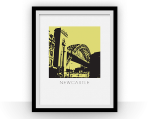 Newcastle Art Poster