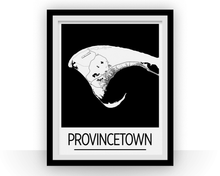 Provincetown Map Poster - usa Map Print - Art Deco Series