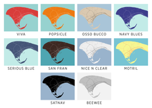 Provincetown Map Print - Choose your color
