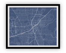 Huntsville Map Print - Choose your color