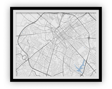 Lexington Map Print - Choose your color