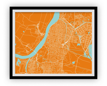 Kolkata Map Print - Choose your color