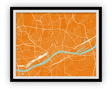 Frankfurt Map Print - Choose your color