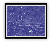Johannesburg Map Print - Choose your color