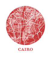 Cairo Map Print - City Map Poster