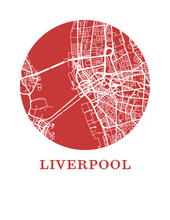 Liverpool Map Print - City Map Poster
