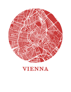 Vienna Map Print - City Map Poster