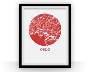 Oslo Map Print - City Map Poster