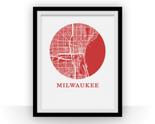 Milwaukee Map Print - City Map Poster