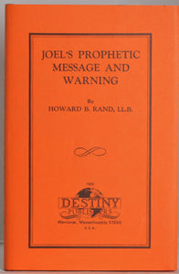Joel's Prophetic Message and Warning