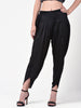 Solid Black Tulip Pant