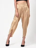 Solid Dark Gold Tulip Pant