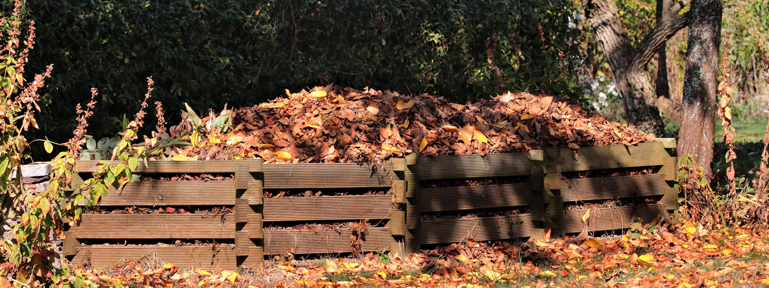 Compost Heap for Home Composting Packaging