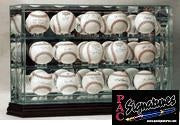 15 Baseball Glass Display Case