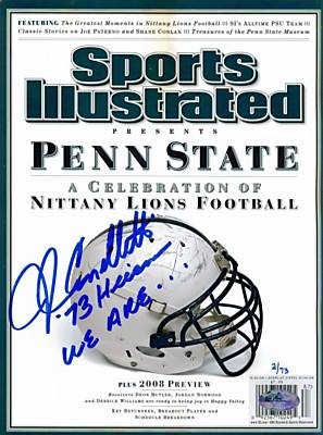 John Cappelletti Autographed Penn State Sports Illustrated Magazine Inscribed '73 Heisman We Are... Ltd. 73
