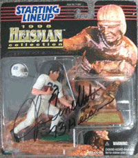 John Cappelletti Autographed Penn State 1989 Starting Line Up Inscribed 73 Heisman