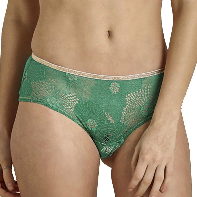 Shorty Georgia Green Lace