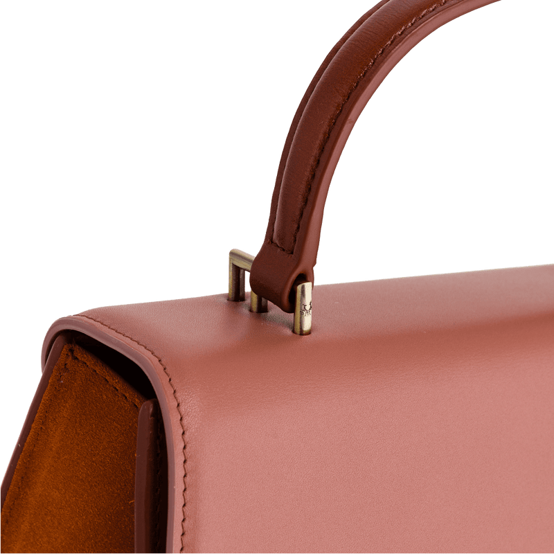 Alexia mini colourblock copper