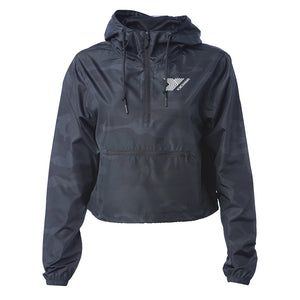 Women's Lightweight Crop Windbreaker