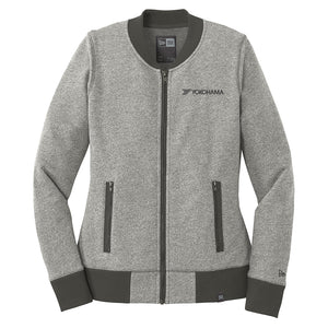 Women's New Era French Terry Baseball Full-Zip