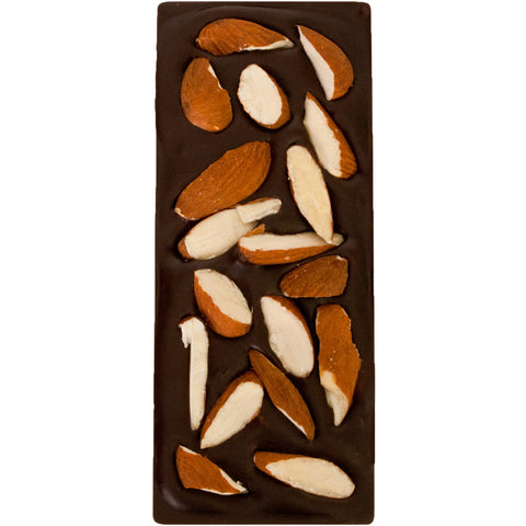 liv a lil chocolate - almond chocolate bar