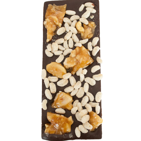 Peanut Crunch Chocolate Bar