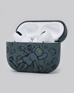 Grey Kaws Holiday Inspired AirPods Pro Case