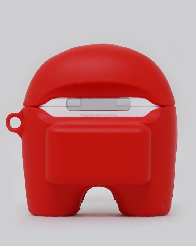 Red Crewmate AirPods Pro Case