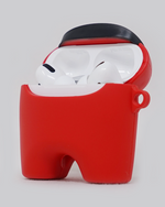 Load image into Gallery viewer, Red Crewmate AirPods Pro Case