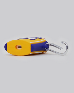 Mamba Lake Show Jersey AirPods Case (Yellow)