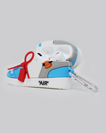 Load image into Gallery viewer, OW AJ 1 UNC AirPods Pro Case