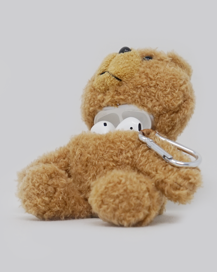 Ted Plush AirPods Case