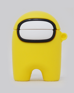 Load image into Gallery viewer, Yellow Crewmate AirPods Case