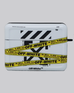 OW Tape (White) AirPods Pro Case