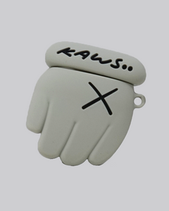 Kaws Hand Inspired AirPods Case (Grey)